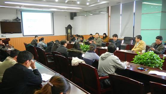 中国海洋大学林洪教授应邀到黄海所作专题报告图片
